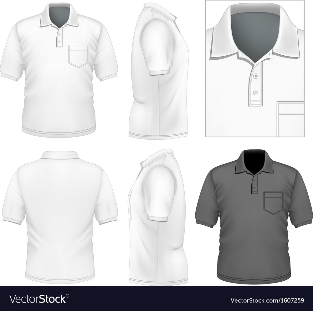 Mens polo-shirt design template vector | Price: 1 Credit (USD $1)