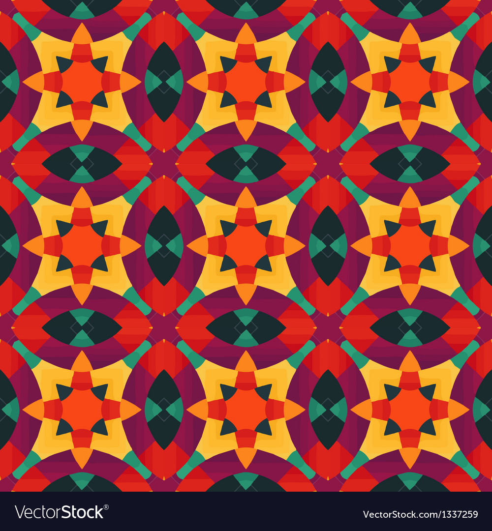 Mosaic pattern background vector | Price: 1 Credit (USD $1)