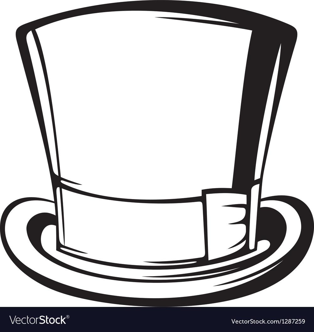 Top hat vector | Price: 1 Credit (USD $1)