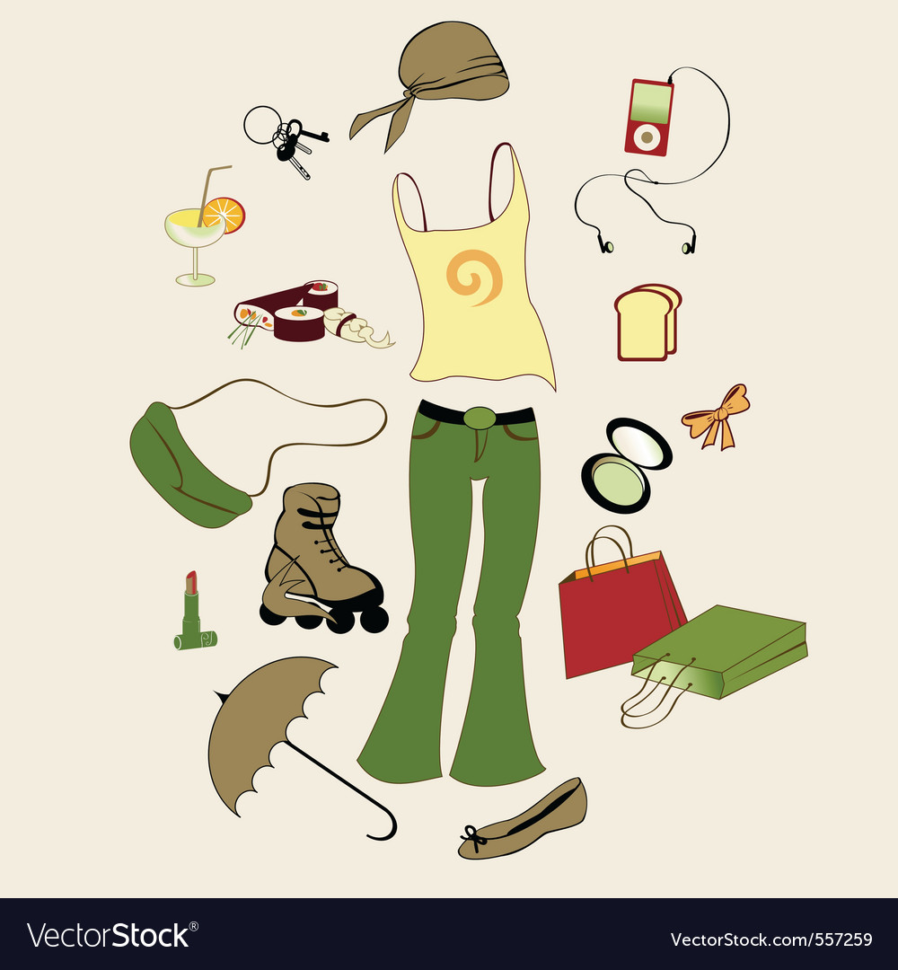 Urban lifestyle vector | Price: 1 Credit (USD $1)