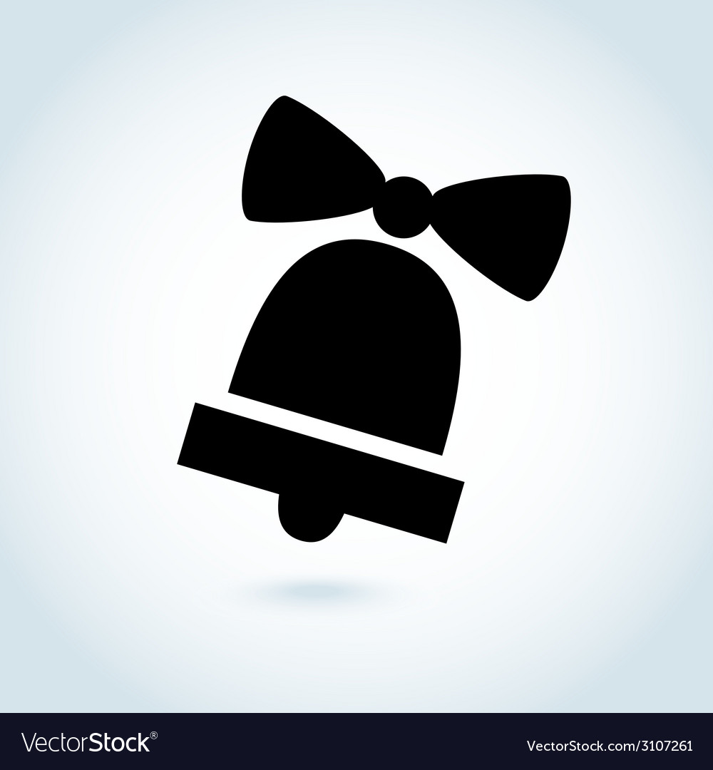 Bell icon symbol vector | Price: 1 Credit (USD $1)