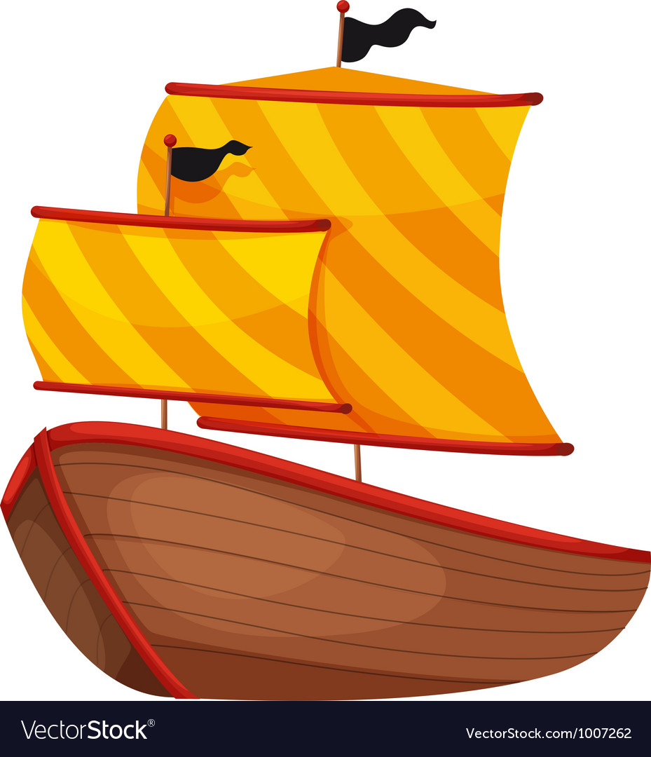 Ancient ship vector | Price: 1 Credit (USD $1)