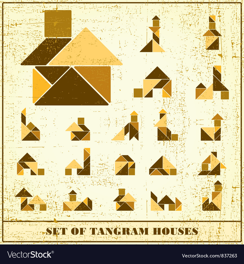 Set of houses vector | Price: 1 Credit (USD $1)