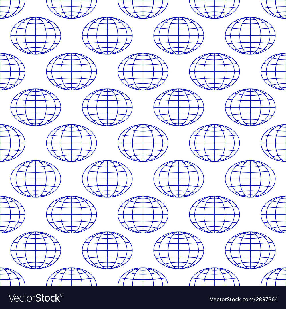Globes background vector | Price: 1 Credit (USD $1)