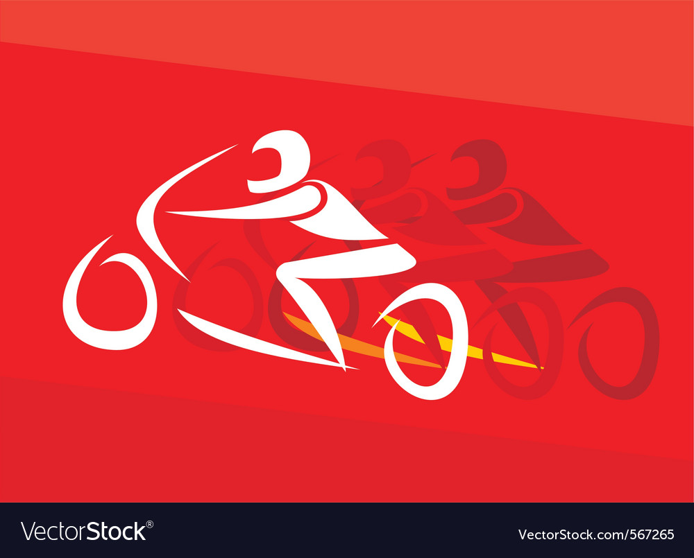 Motor racing vector | Price: 1 Credit (USD $1)