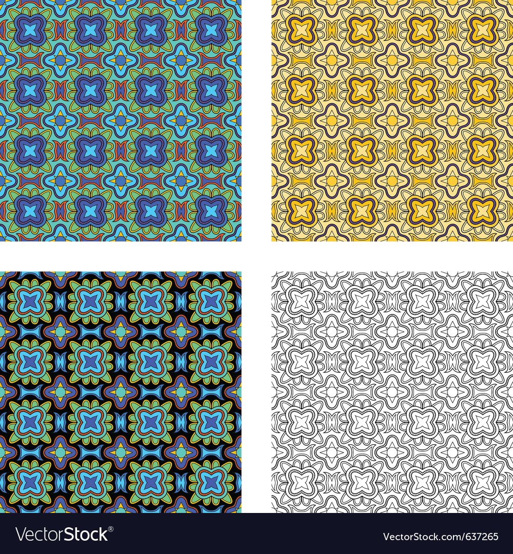 Pattern psychedelic vector | Price: 1 Credit (USD $1)