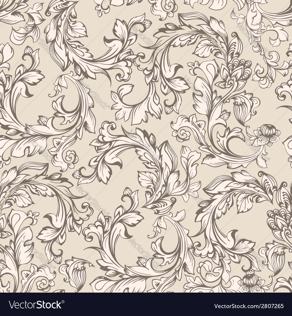 Seamless pattern for design vector