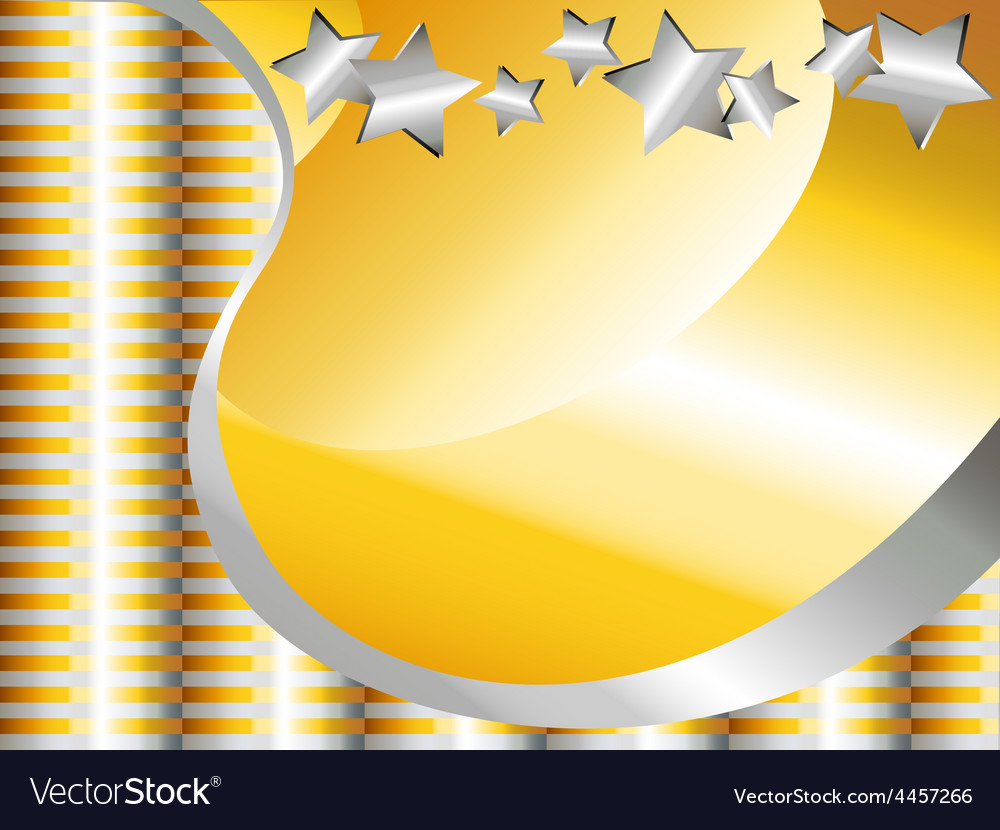Gold and silver celebration background vector | Price: 1 Credit (USD $1)