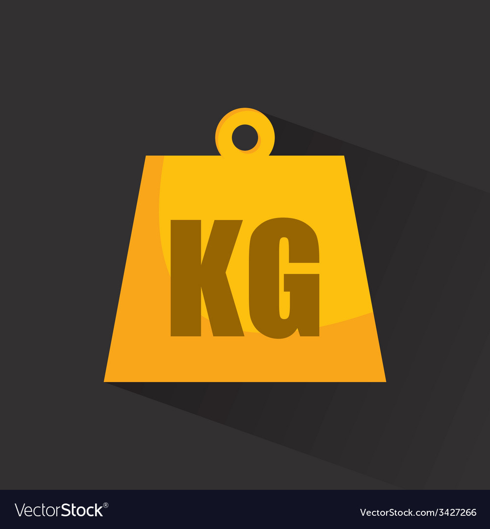 Kg design vector | Price: 1 Credit (USD $1)
