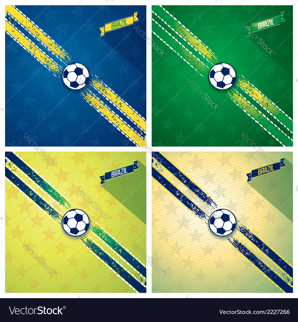 Set sport background vector | Price: 1 Credit (USD $1)