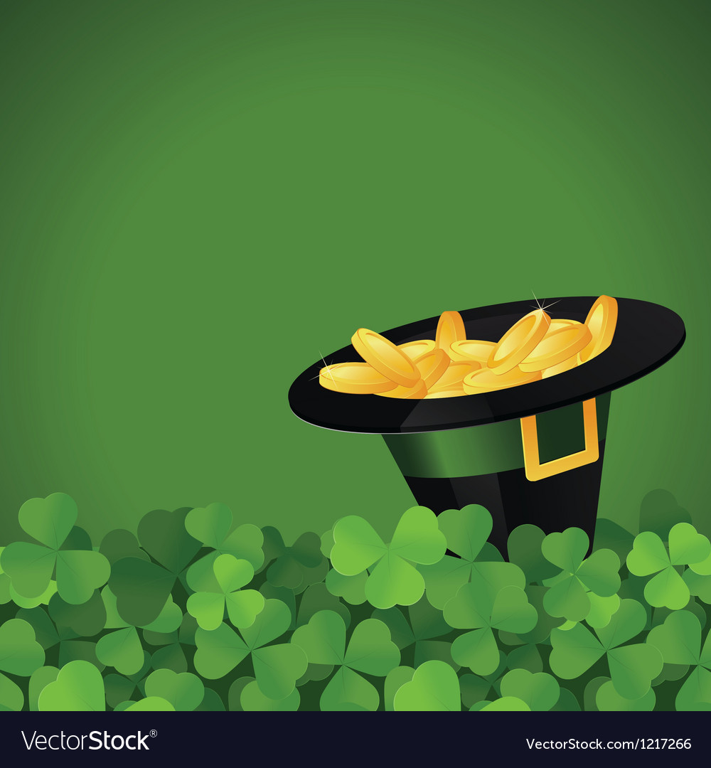 St patrick s day festive frame vector | Price: 1 Credit (USD $1)