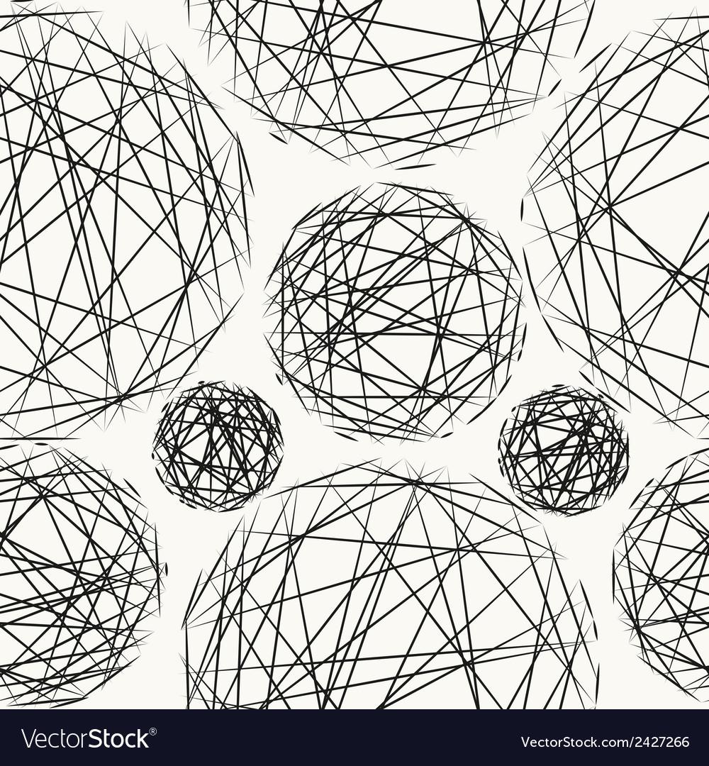 Stylish polka dot texture seamless pattern vector   Price: 1 Credit (USD $1)