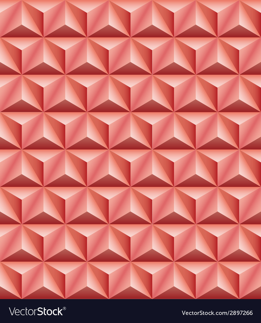Tripartite pyramid red-brown clay seamless texture vector | Price: 1 Credit (USD $1)