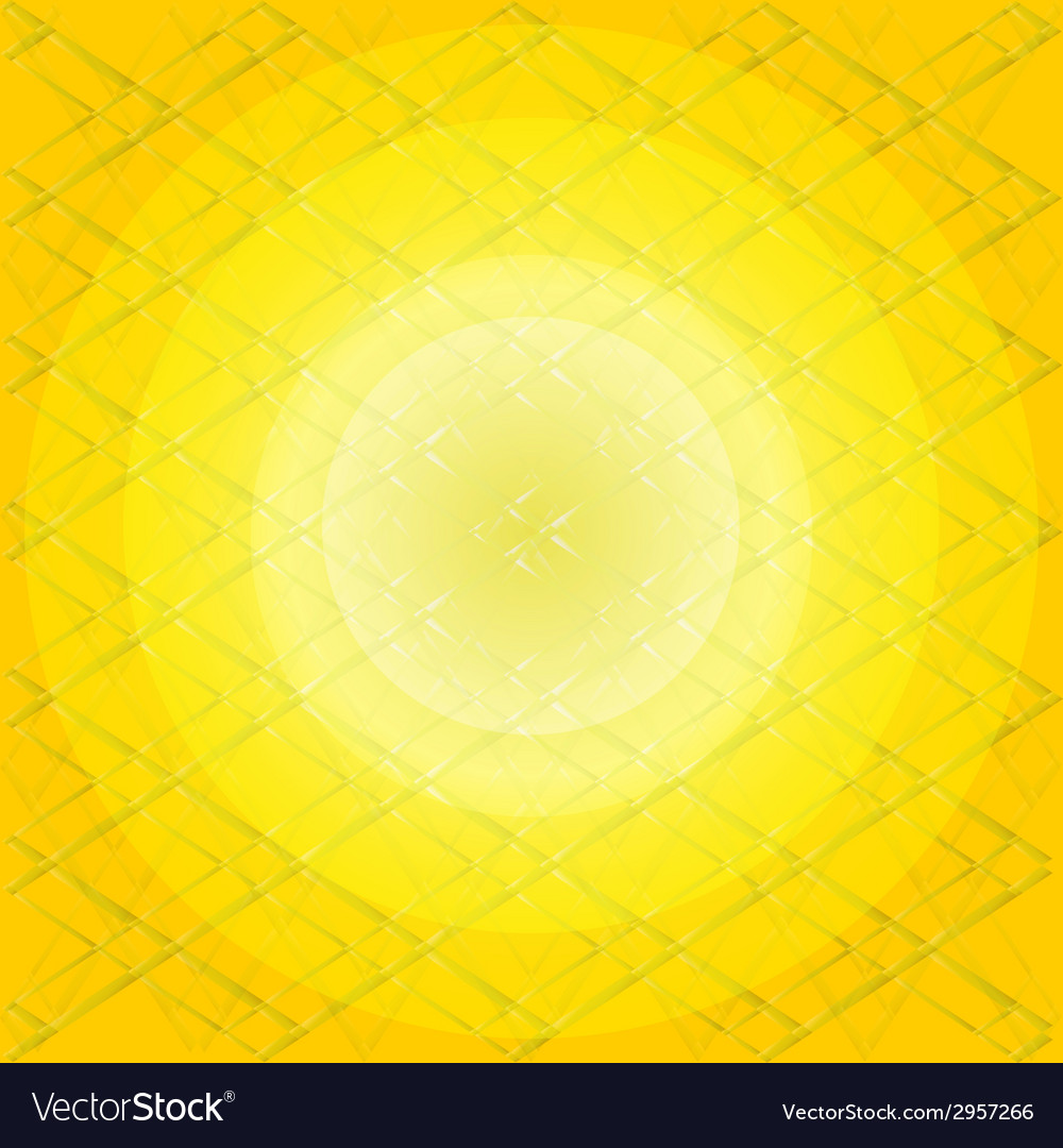Yellow pattern background vector