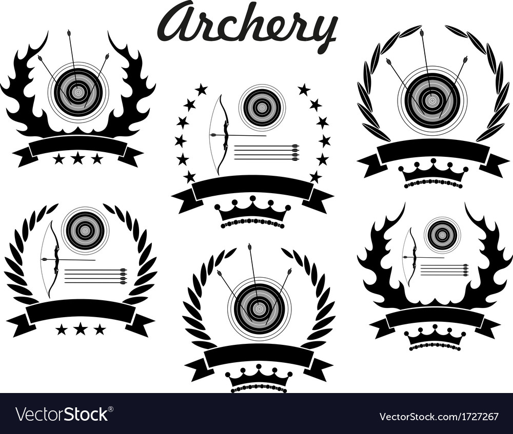 Archery vector | Price: 1 Credit (USD $1)