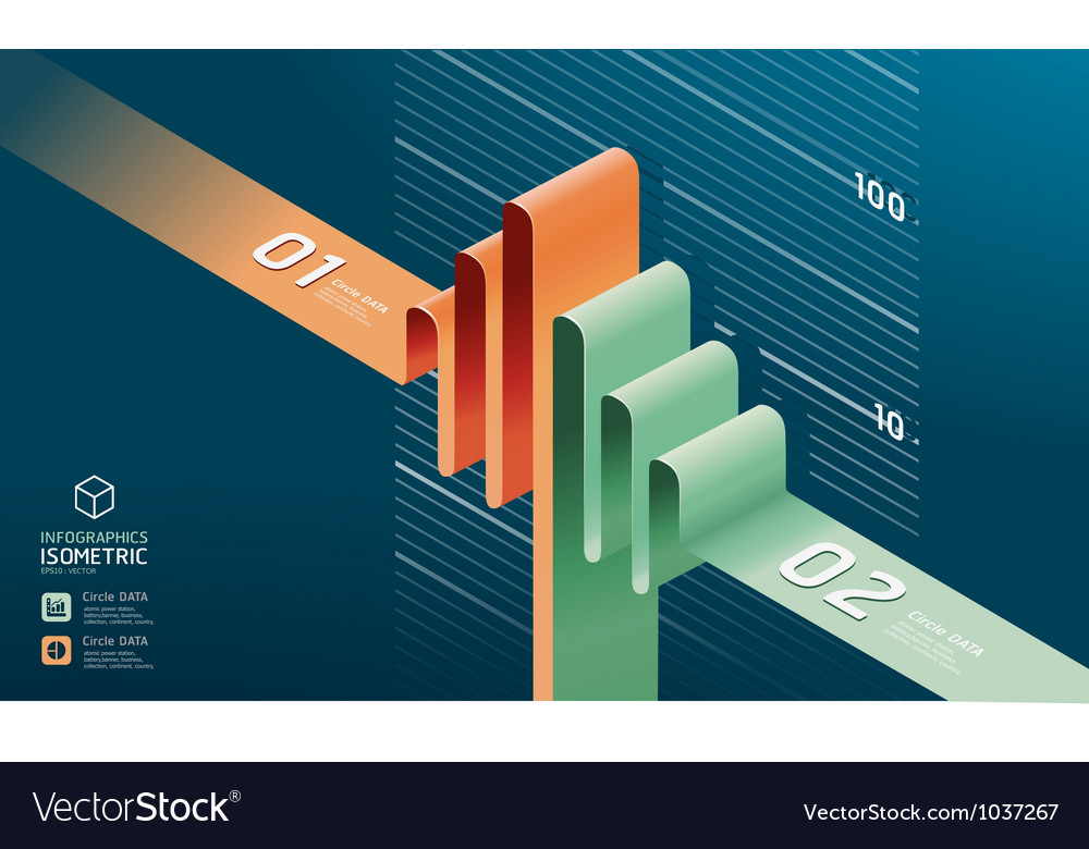 Infographic diagram chart vector   Price: 1 Credit (USD $1)