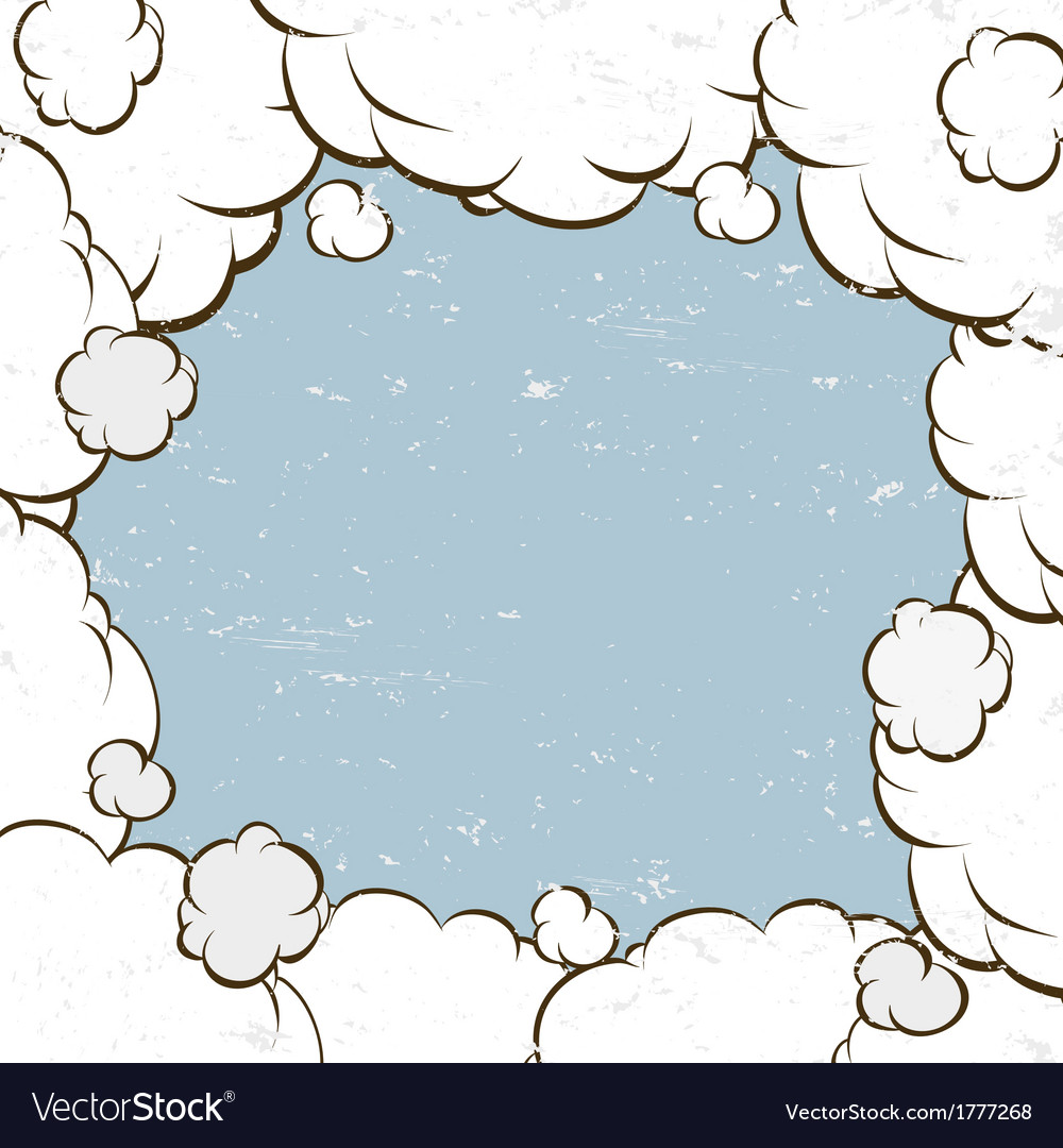 Clouds backgrounds vector | Price: 1 Credit (USD $1)