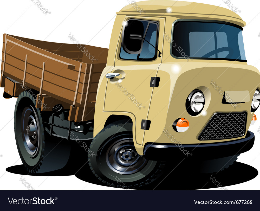 Pick up truck vector | Price: 5 Credit (USD $5)