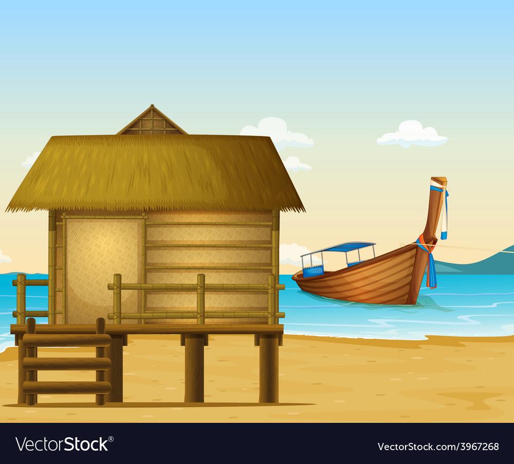 Thailand beach vector | Price: 1 Credit (USD $1)
