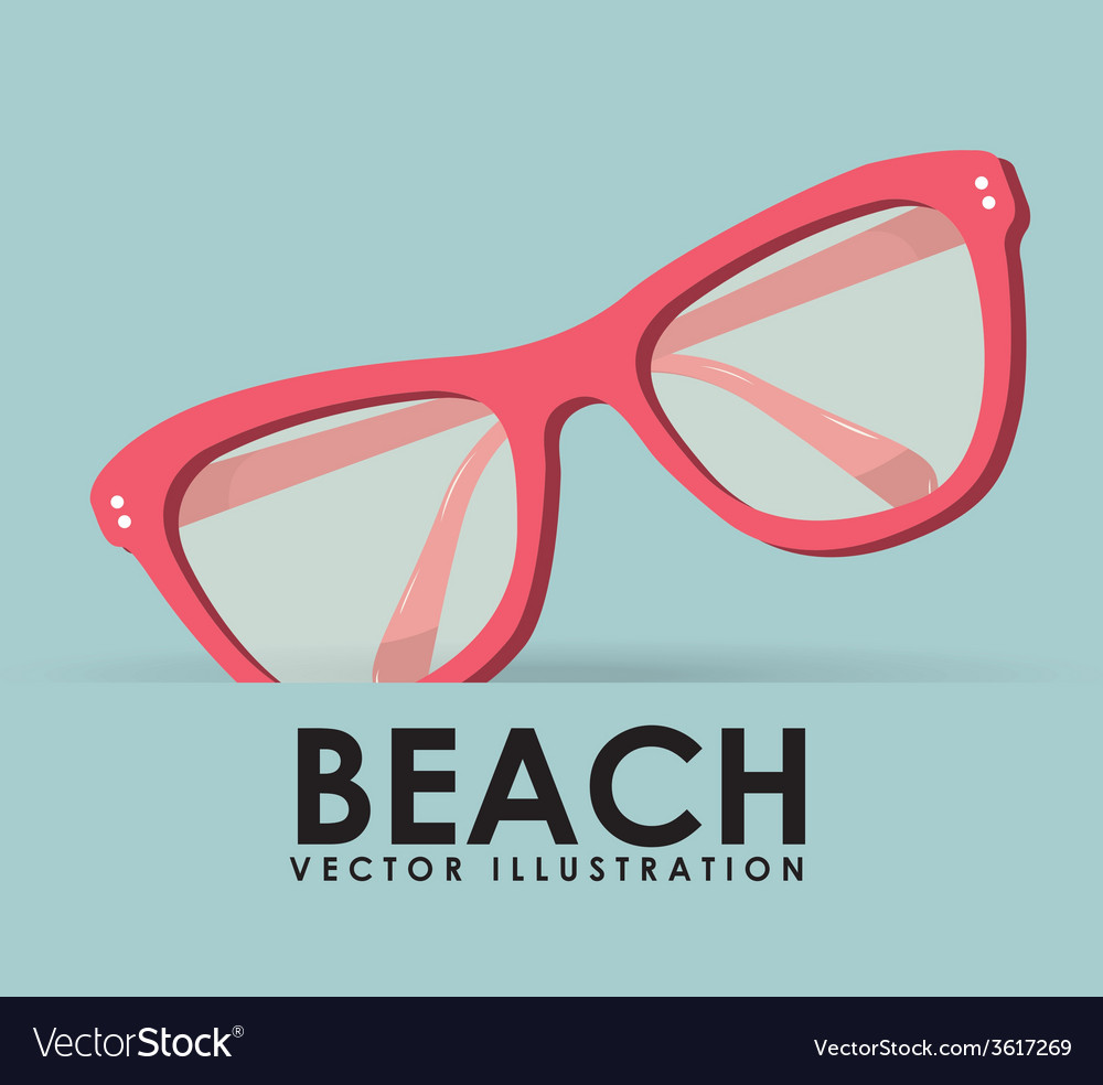 Beach icon vector | Price: 1 Credit (USD $1)