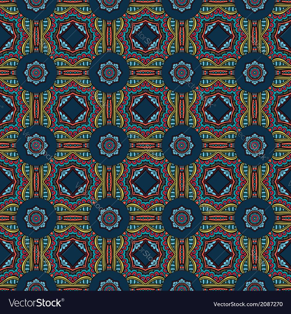 Decorative ornamental seamless pattern vector   Price: 1 Credit (USD $1)
