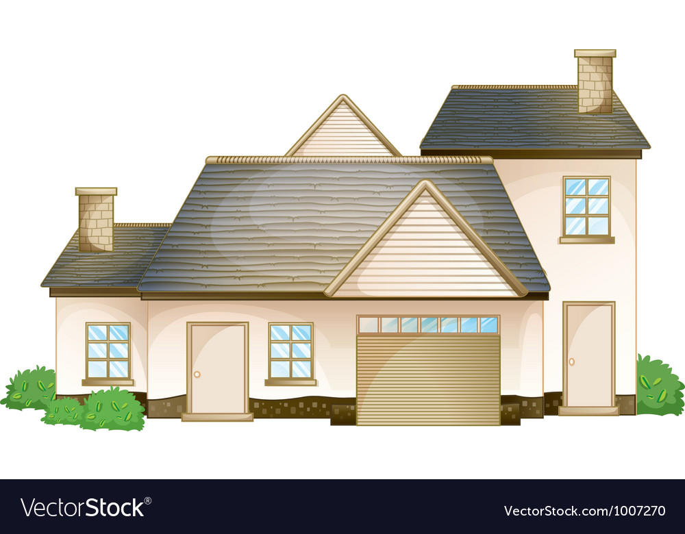 Modern house vector | Price: 3 Credit (USD $3)
