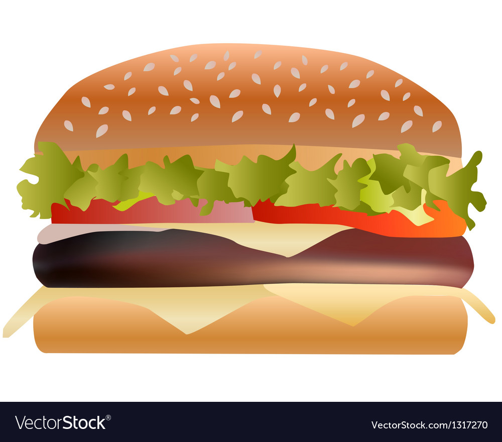 Sandwich vector | Price: 1 Credit (USD $1)