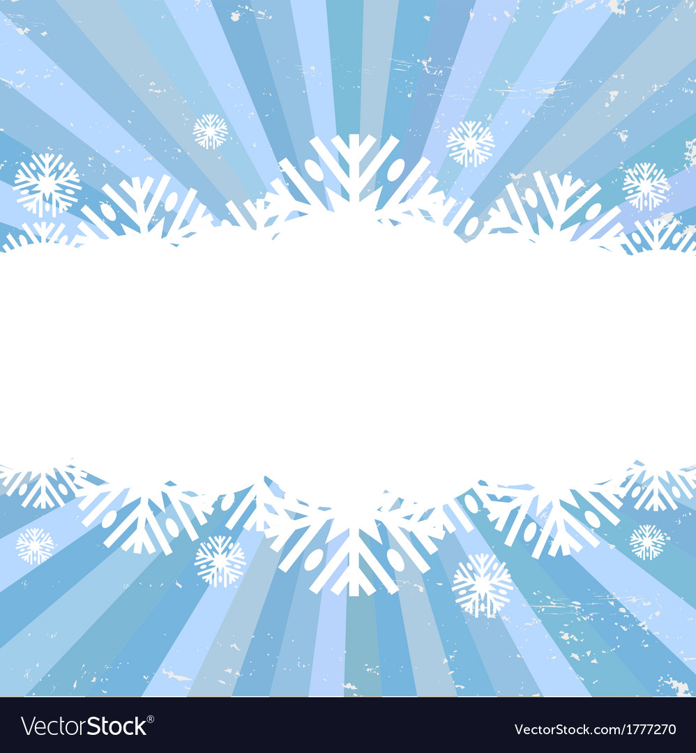 Snowflake backgrounds card vector | Price: 1 Credit (USD $1)