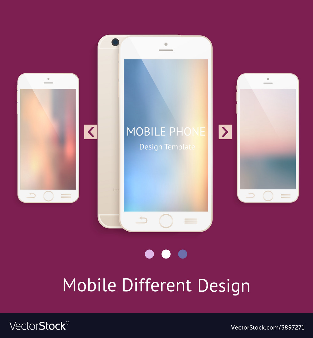 Phone mock up for your design vector   Price: 1 Credit (USD $1)