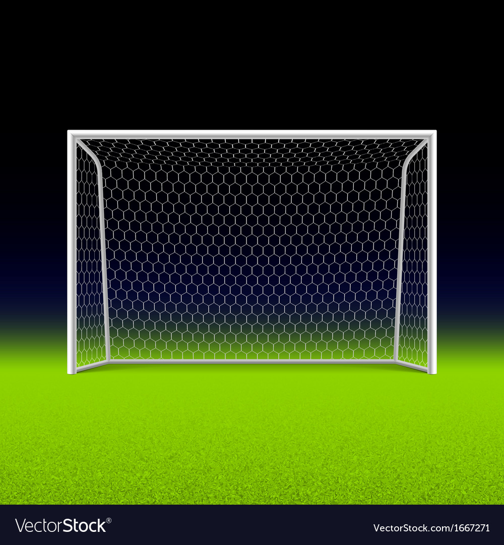 Soccer goal vector | Price: 1 Credit (USD $1)