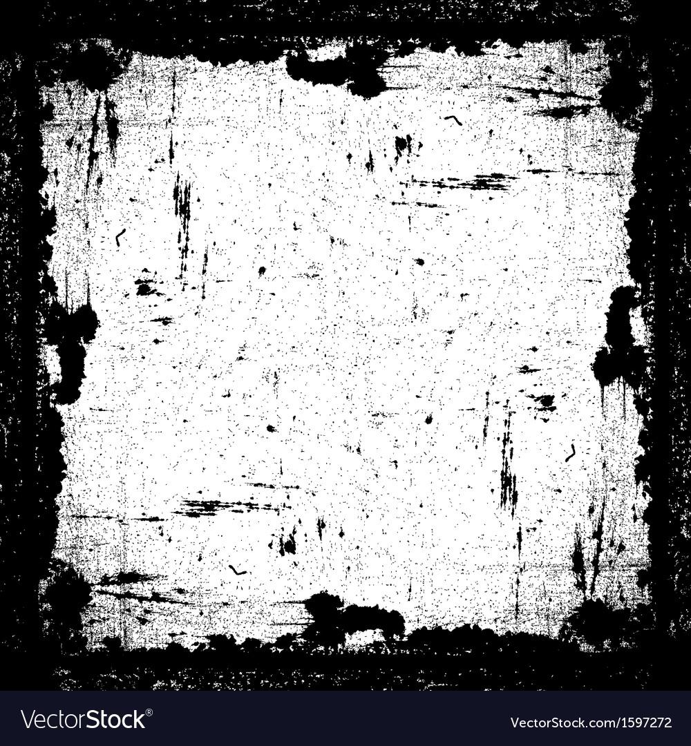 Grunge textured frame vector   Price: 1 Credit (USD $1)