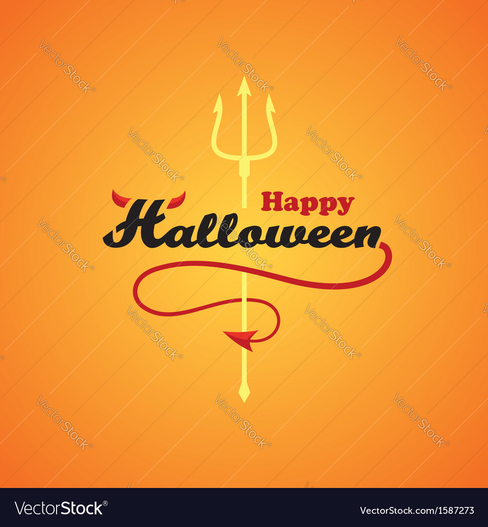 Happy halloween1 vector | Price: 1 Credit (USD $1)