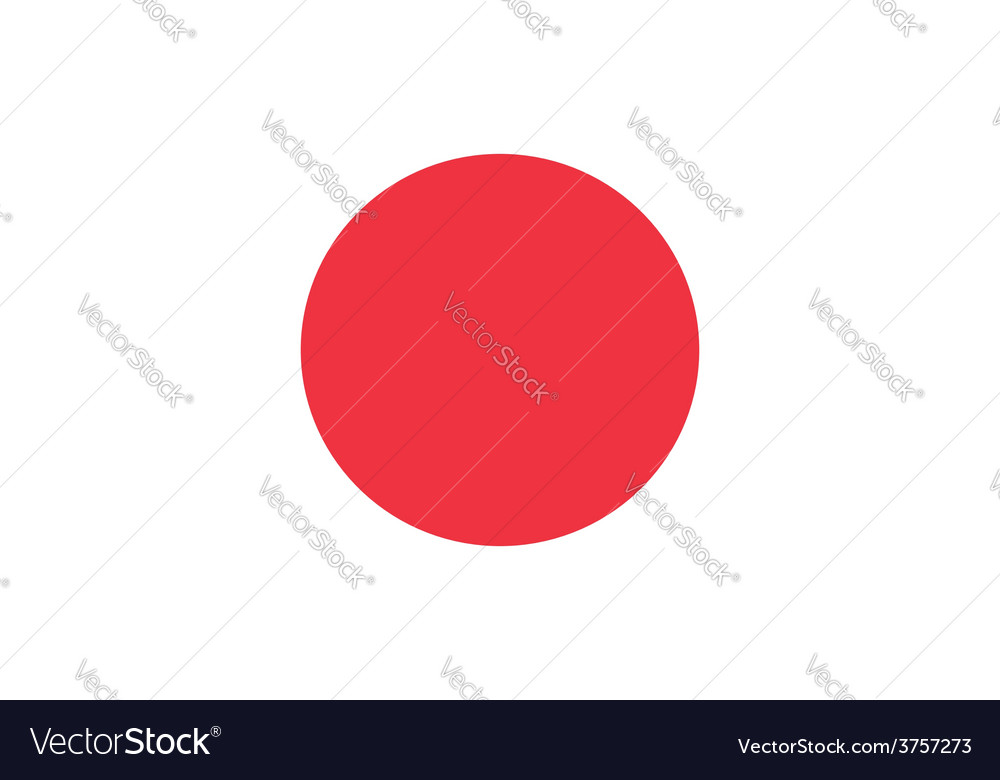 Japan flag original proportions and oficial vector | Price: 1 Credit (USD $1)