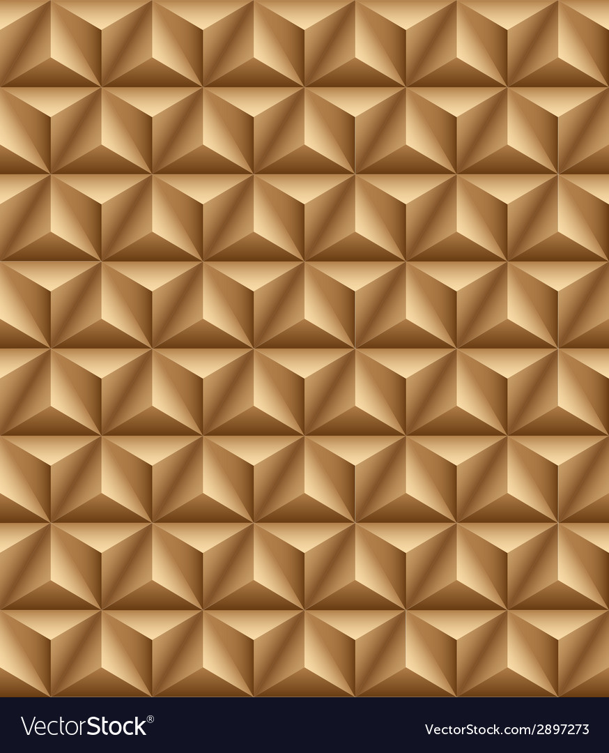 Tripartite pyramid brown seamless texture vector | Price: 1 Credit (USD $1)