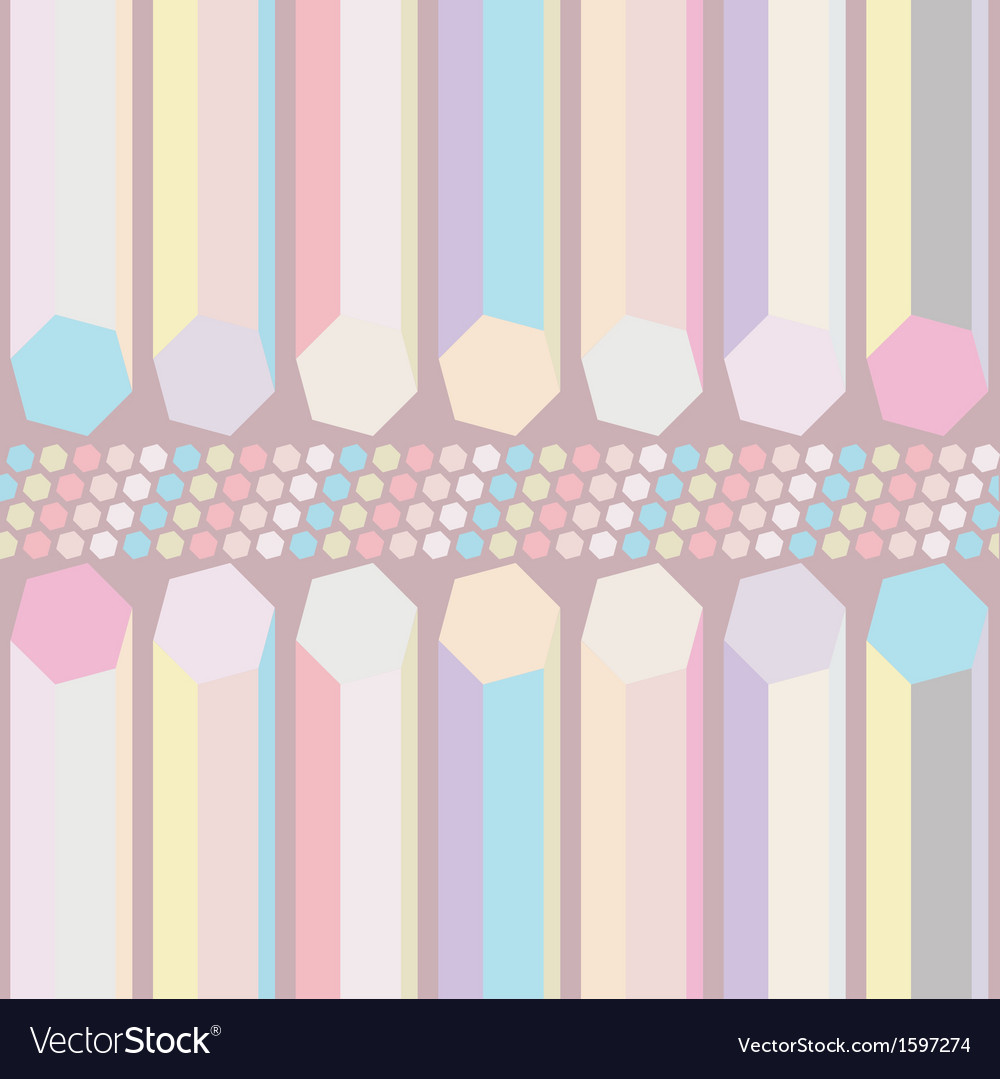 Seamless pastel abstract pattern vector | Price: 1 Credit (USD $1)