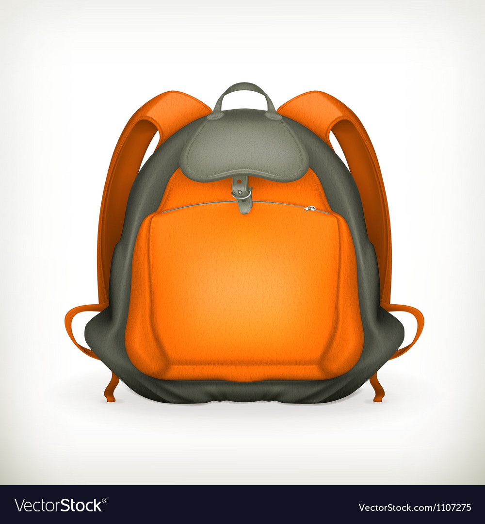 Backpack vector | Price: 3 Credit (USD $3)