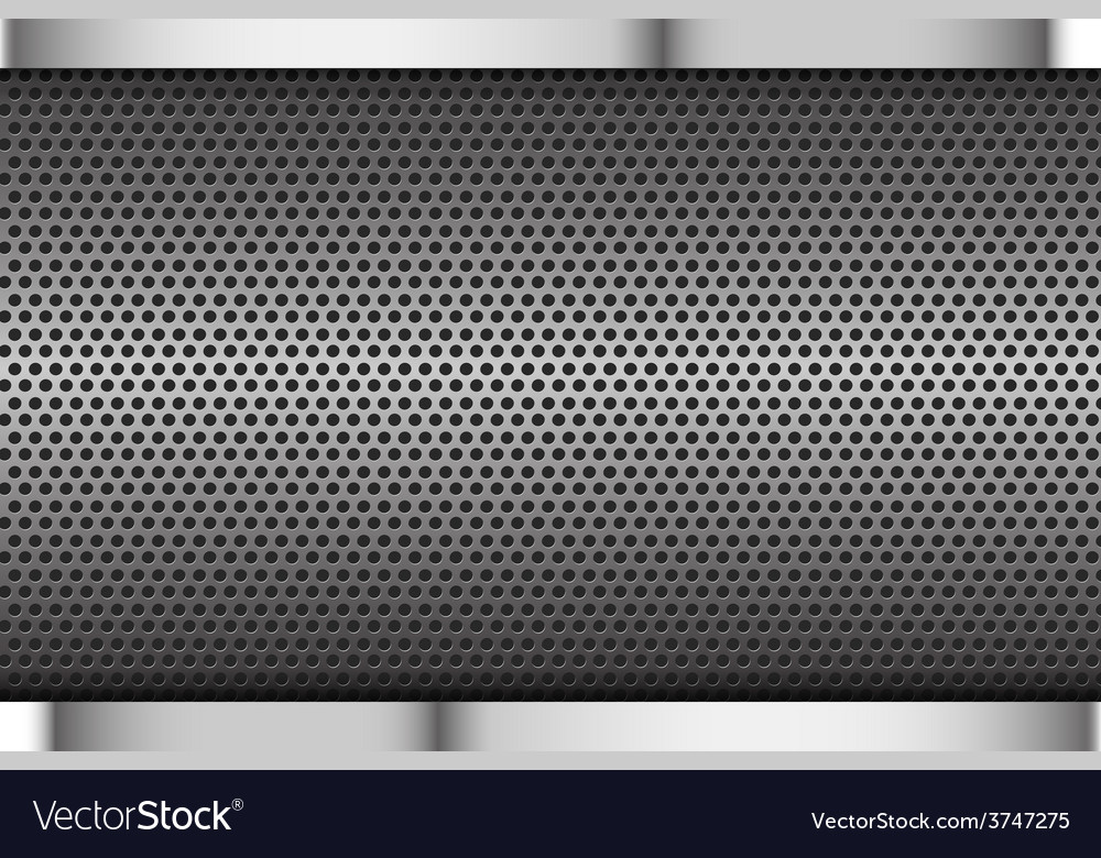 Chrome black and grey background texture vector | Price: 1 Credit (USD $1)