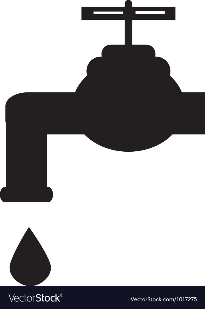 Leaky tap vector | Price: 1 Credit (USD $1)