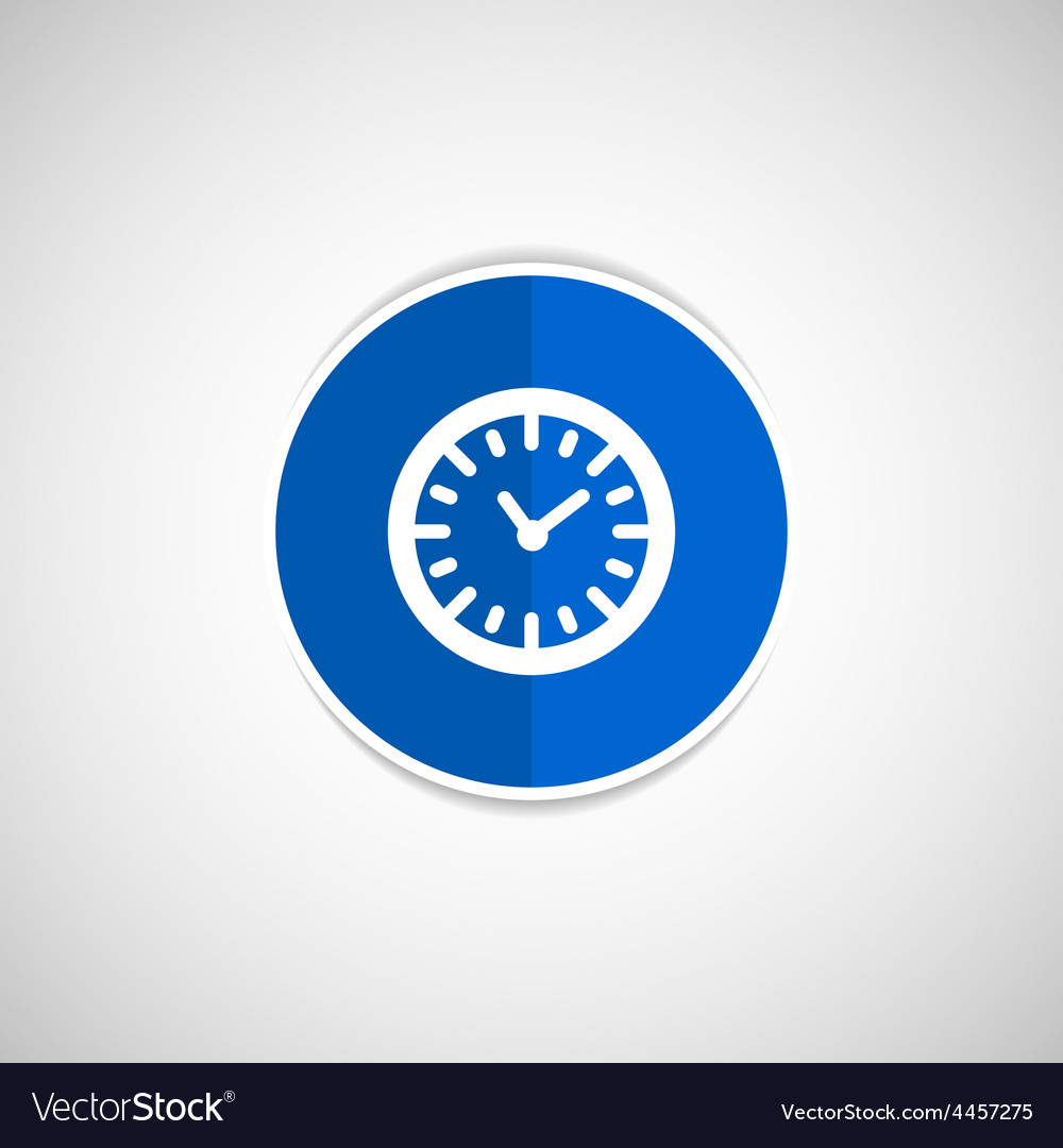 Watch clock icon time timer vector | Price: 1 Credit (USD $1)