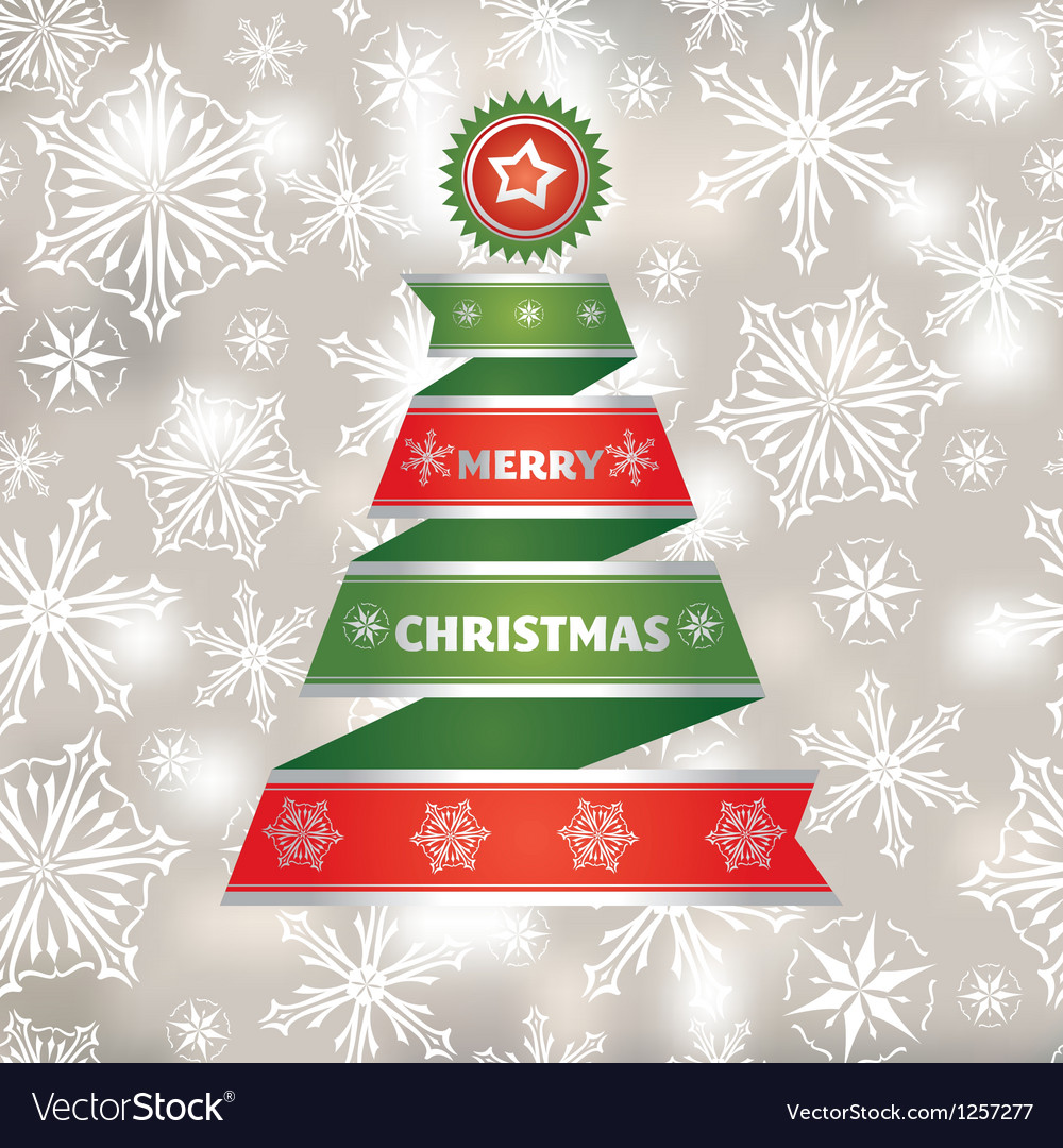 Abstract christmas card vector | Price: 1 Credit (USD $1)