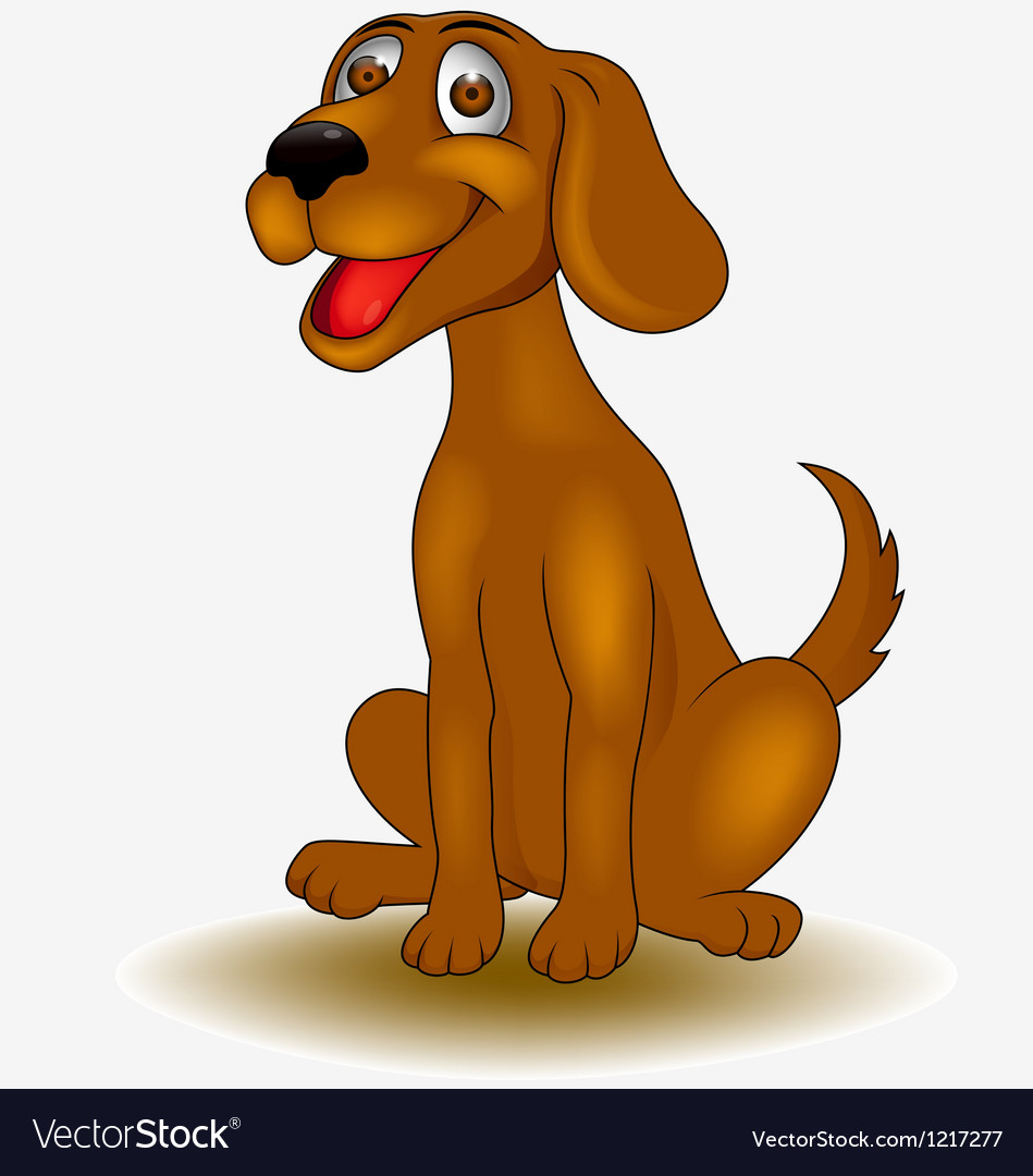 Funny dog vector | Price: 1 Credit (USD $1)