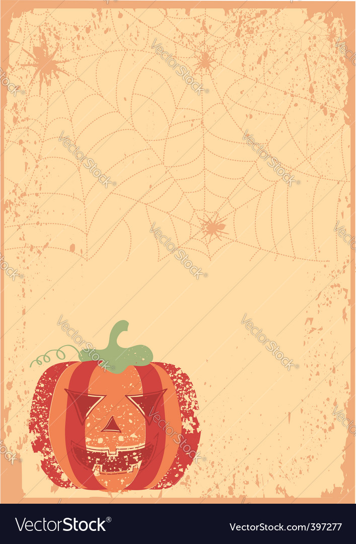 Halloween grunge vector | Price: 1 Credit (USD $1)