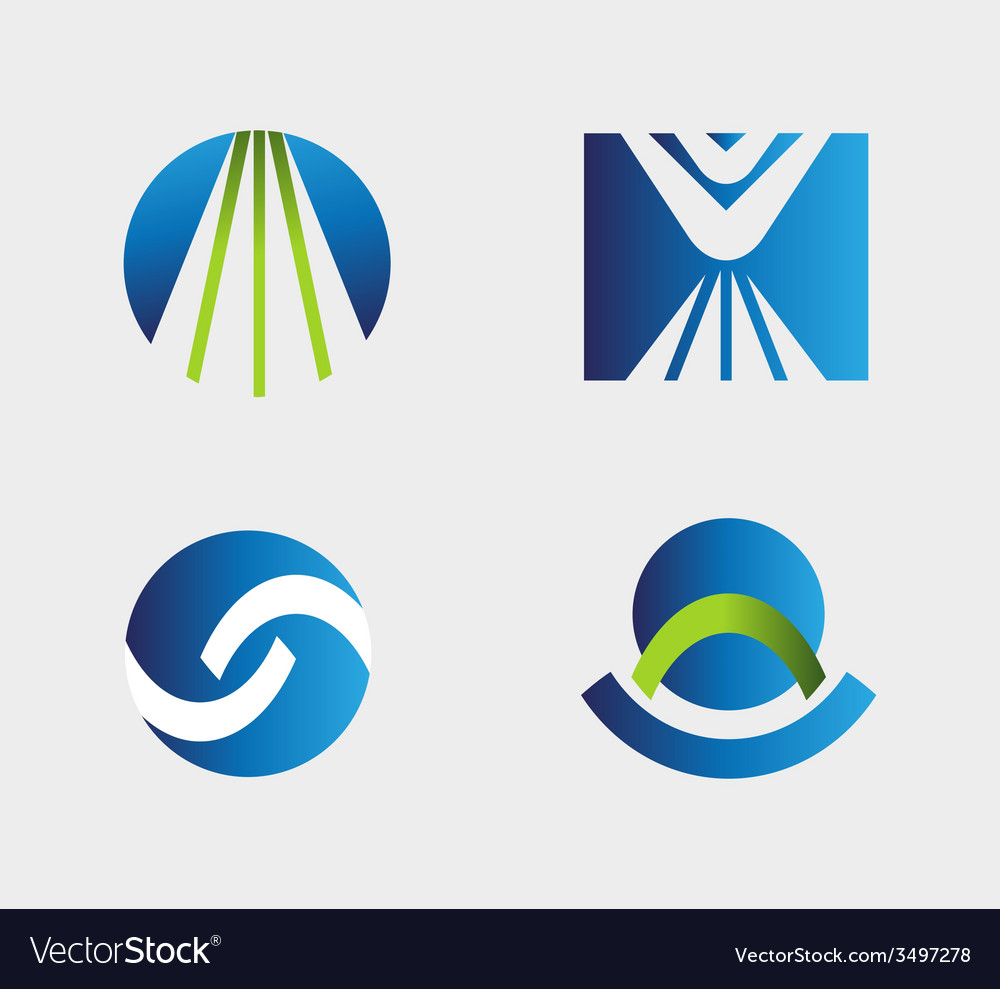 Business logo icons set vector   Price: 1 Credit (USD $1)