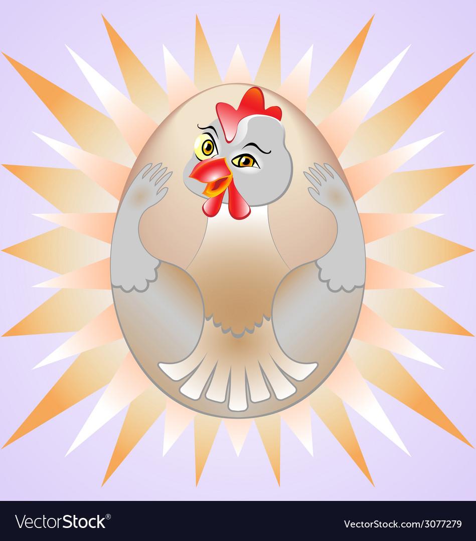 Chicken egg vector   Price: 1 Credit (USD $1)