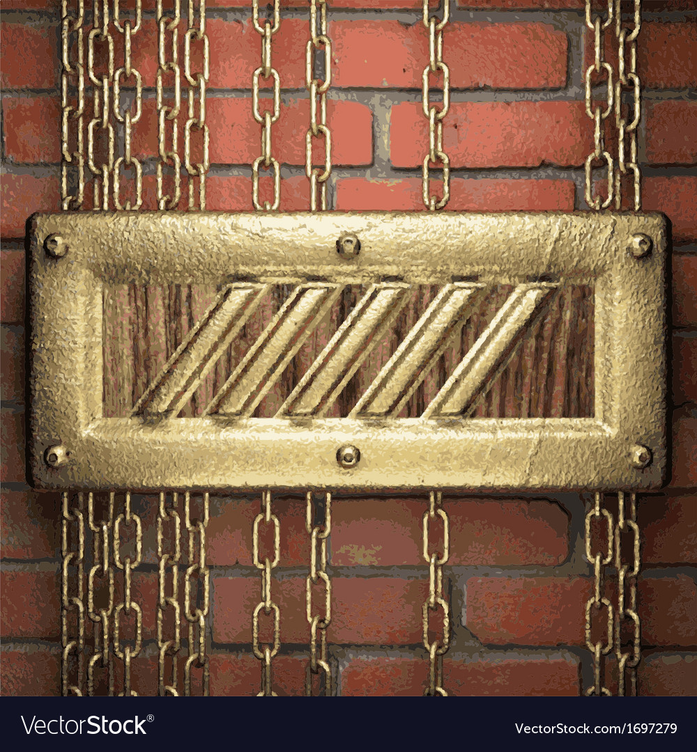 Gold on brick background vector   Price: 1 Credit (USD $1)
