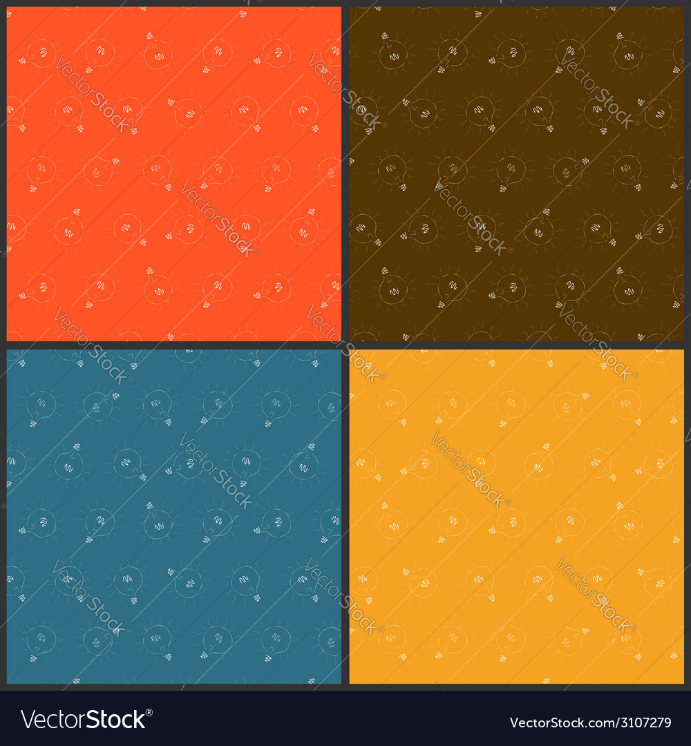 Set from color seamless backgrounds vector | Price: 1 Credit (USD $1)