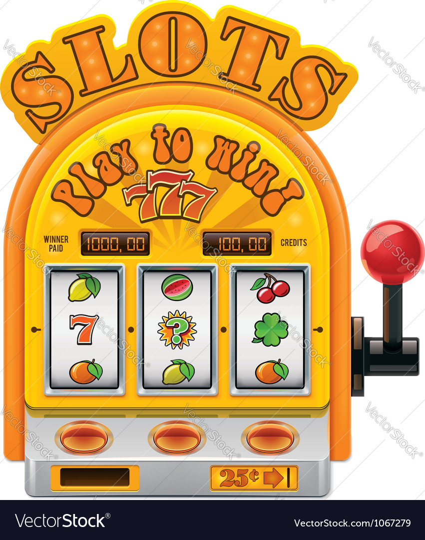 Slot machine icon vector | Price: 3 Credit (USD $3)