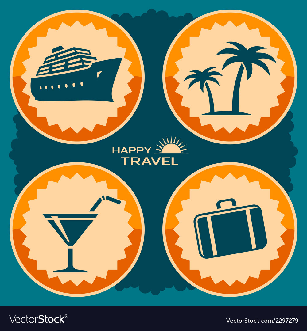 Travel poster design vector | Price: 1 Credit (USD $1)