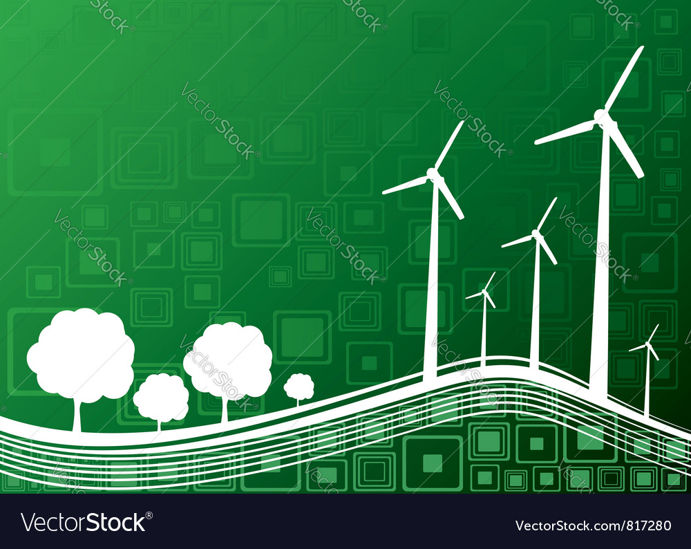 Ecology concept green 2 vector   Price: 1 Credit (USD $1)