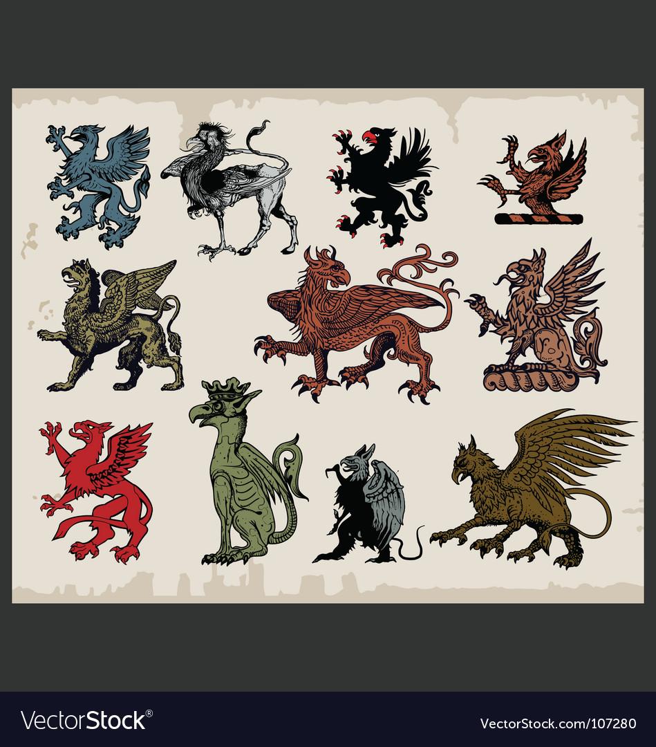 Griffins vector | Price: 3 Credit (USD $3)